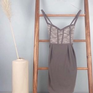 Lululemon Light Purple/Gray Babydoll Workout Tank